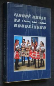 náhled knihy - Lidové kroje na Hodonínsku