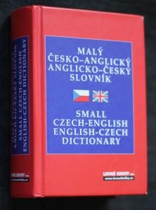náhled knihy - Malý česko-anglický anglicko-český slovník