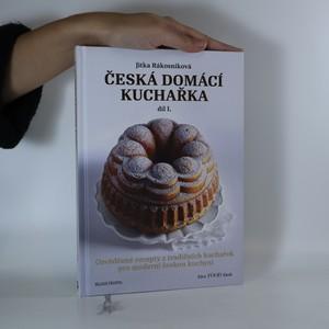 náhled knihy - Česká domácí kuchařka. I. díl