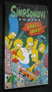 náhled knihy - Simpsonovi vrací úder! : komiks