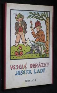 náhled knihy - Veselé obrázky Josefa Lady : Pro děti od 2 let