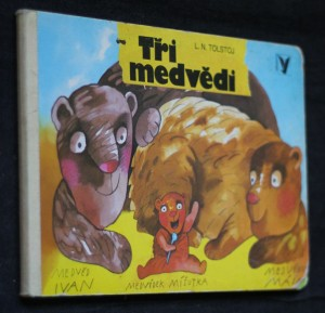 náhled knihy - Tři medvědi