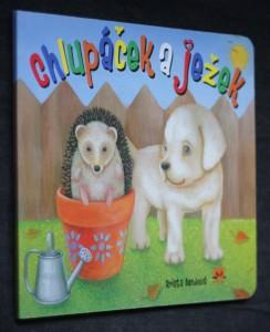 náhled knihy - Chlupáček a ježek