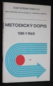 náhled knihy - Metodický dopis, tenis v praxi