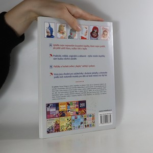 antikvární kniha Pletené čepičky pro malé človíčky. 20 pletených dětských doplňků na motivy zvířátek, 2013