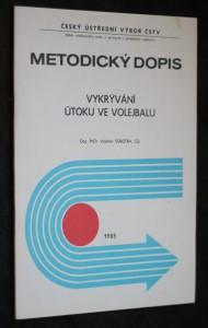náhled knihy - Metodický dopis, vykrývání útoku ve volejbalu