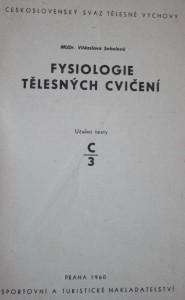 antikvární kniha Fysiologie tělesných cvičení, 1960