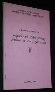 náhled knihy - Programové učební postupy přeskoků ve sportovní gymnastice