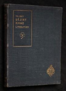 náhled knihy - Dějiny římské literatury v pěti hodinách
