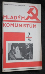 náhled knihy - Mladým komunistům 7/1972