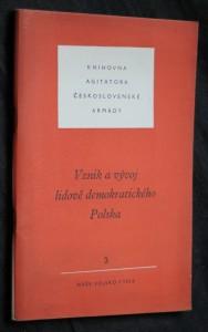 náhled knihy - Vznik a vývoj lidově demokratického Polska 3/1956