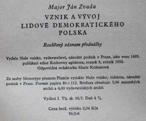 antikvární kniha Vznik a vývoj lidově demokratického Polska 3/1956, 1956