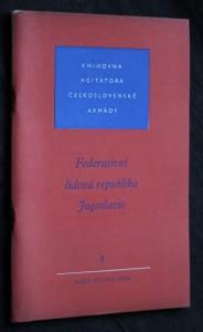 náhled knihy - Federativní lidová republika Jugoslavie 8/1956