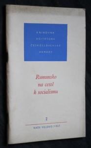 náhled knihy - Rumunsko na cestě k socialismu 2/1957