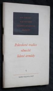 náhled knihy - Pokrokové tradice německé lidové armády 1/1957