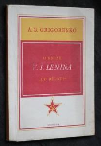 náhled knihy - O knize V.I. Lenina