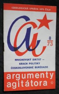 náhled knihy - Mnichovský diktát-krach politiky Československé buržoazie, argumenty agitátora 8/73
