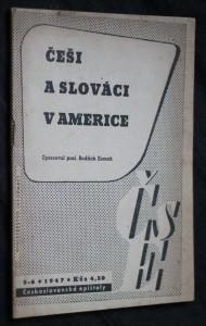 náhled knihy - Češi a Slováci v Americe