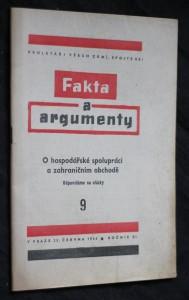 náhled knihy - Fakta a argumenty 9. O hospodářské spolupráci a zahraničním obchodě, ročník XI