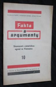 náhled knihy - Fakta a argumenty 10. Skoncovat s americkou agresí ve Vietnamu, ročník XI