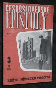 náhled knihy - Československé epištoly: Bděte! Německo procítá III, 1948