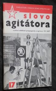 náhled knihy - Slovo agitátora 17/1973
