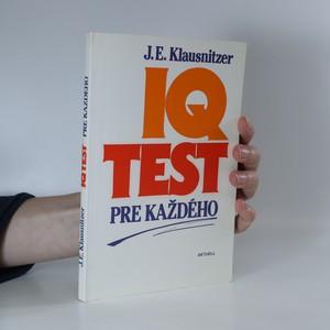 náhled knihy - IQ test pre každého