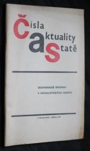 náhled knihy - Čísla aktuality statě. Ekonomické reformy v socialistických zemích