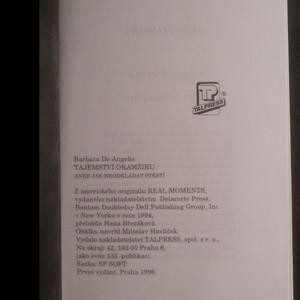 antikvární kniha Tajemství okamžiku, aneb, Jak neodkládat štěstí, 1996