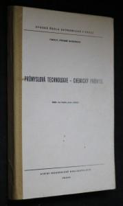 náhled knihy - Průmyslová technologie- chemický průmysl