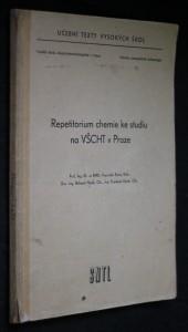 náhled knihy - Repetitorium chemie ke studiu na VŠCHT v Praze