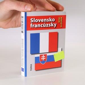 náhled knihy - Slovensko-francúzsky minislovník. Francúzsko-slovenský minislovník