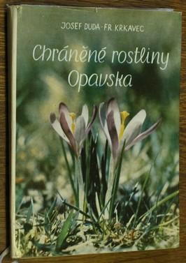 náhled knihy - Chráněné rostliny Opavska