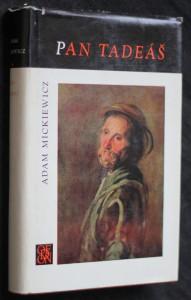 náhled knihy - Pan Tadeáš čili Poslední nájezd na Litvě : šlechtický příběh z r. 1811 a 1812 ve 12 zpěvech