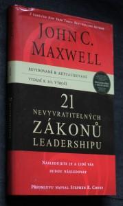 náhled knihy - 21 nevyvratitelných zákonů leadershipu