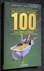 náhled knihy - 100 zlatých pravidel jak zbohatnout