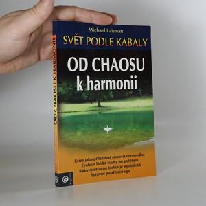 náhled knihy - Od chaosu k harmonii