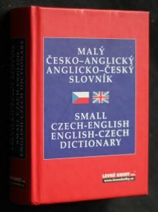 náhled knihy - Malý česko-anglický, anglicko-český slovník = Small Czech-English, English-Czech dictionary