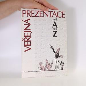 náhled knihy - Veřejná prezentace od A do Z