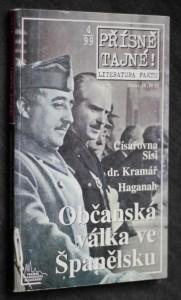 náhled knihy - Přísně tajné! Občanská válka ve Španělsku