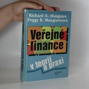 náhled knihy - Veřejné finance v teorii a praxi