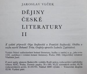 antikvární kniha Dějiny české literatury. II, Literatura národního obrození, 1960