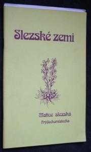 náhled knihy - Slezské zemi : sborník básní členů Literárního kroužku P. Bezruče při Matici slezské Frýdeckomístecka