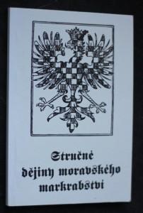 náhled knihy - Stručné dějiny Moravského markrabství
