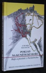 náhled knihy - Poklad na Kunětické hoře : báje a pověsti z Pardubicka