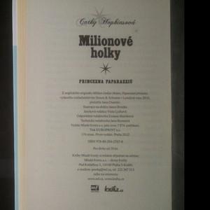 antikvární kniha Milionové holky. Princezna paparazziů, 2012