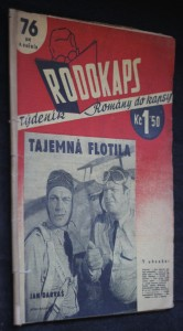 náhled knihy - Rodokaps 76 (24), II. ročník: Tajemná flotila