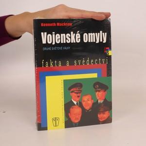 náhled knihy - Vojenské omyly druhé světové války (zabalená)