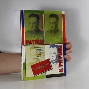 náhled knihy - Patřili k prvním : komentované dokumenty a vzpomínky k činnosti Obrany národa na Ostravsku (věnování autora)