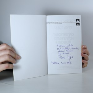 antikvární kniha Tajomstvo stratených hrobov (slovensky, s věnováním autora), 1996